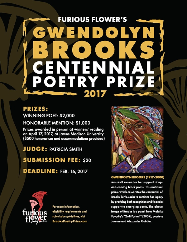 GBC Poetry Prize flyer