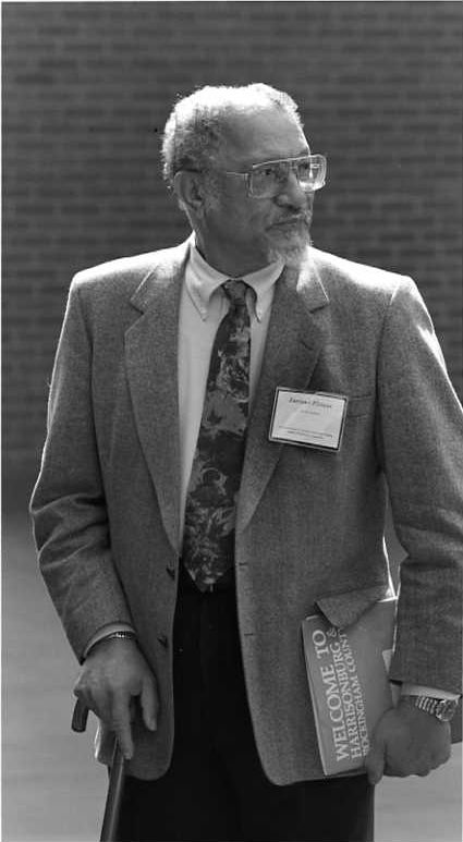 Alvin Aubert at the 1984 Furious Flower Poetry Conference