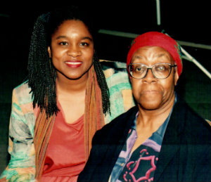 Joanne Gabbin, Gwendolyn Brooks (1994), photo by Willie Williams