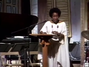 Mari Evans reading at the 1994 Furious Flower Poetry Conference