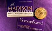 Madison Collaborative cards and coin