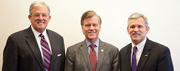 JMU Presidents with Governor McDonnell