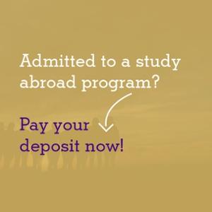 james madison university study abroad deposit