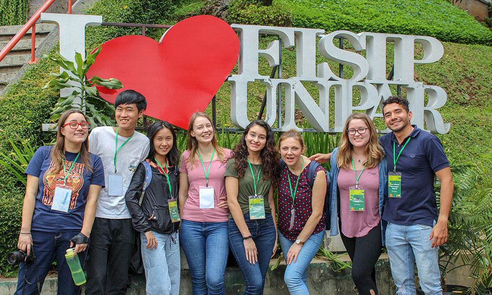 Students that attended International Student Conference