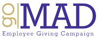 Employee Giving Campaign - Go MAD logo