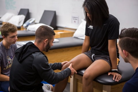 Athletic Training, M.S.A,T,