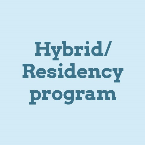 hybrid/residency for Counseling and Supervision