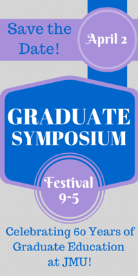 Save the Date for the 2015 Graduate Symposium