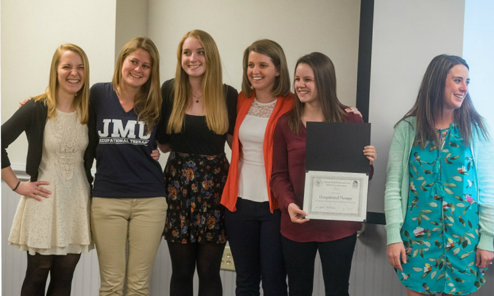 Program Honoree  JMU Occupational Therapy
