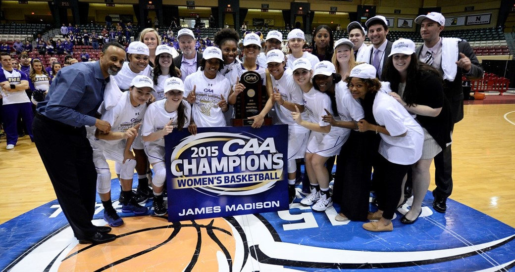 Women's CAA Champs 2015