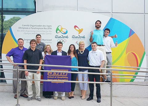 SRM Students at Rio Olympics 2016