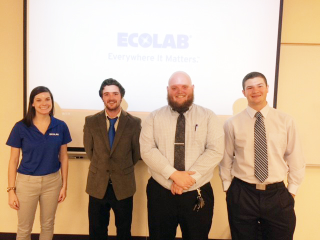 Ecolab visits HM 211 in 2015