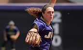 Jailyn Ford (SRM) Pitching a Game for the JMU Dukes in 2014
