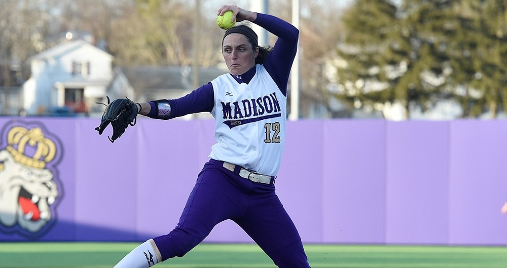 Jailyn Ford Pitching for JMU 2015