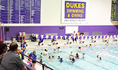 Ability Olympics Participants in the JMU pool - 2015