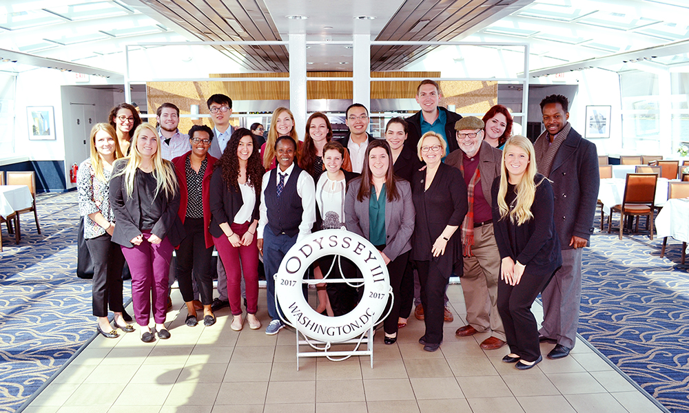 NSMH Members on a Entertainment Cruises cruise on the Potomac - 2017