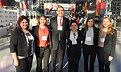 6 HM senior ambassadors at NY International Hotel Experience Show - 2016