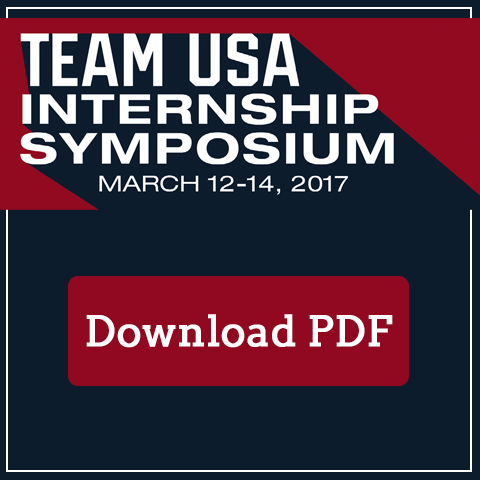 Team USA Internship Symposium Spot Ad