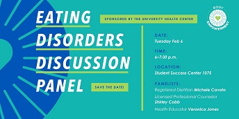 Eating Disorders Discussion Panel