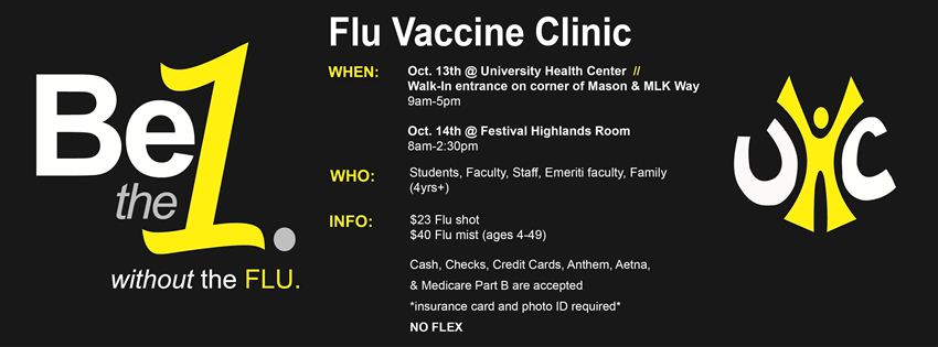 Image: Flu Vaccine Clinic Oct. 13-14