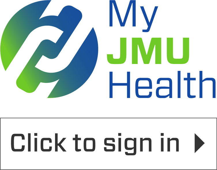 Click to sign in to the My JMU Health system