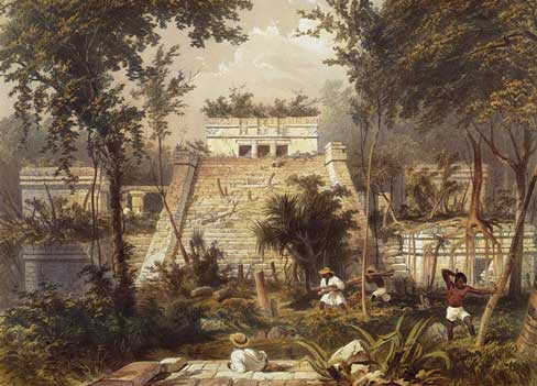 Tulum by Catherwood, 1844