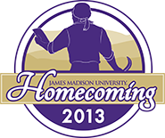 JMU Homecoming 2013 logo