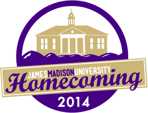 JMU Homecoming logo