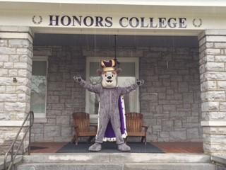 Duke Dog welcomes you to Hillcrest!