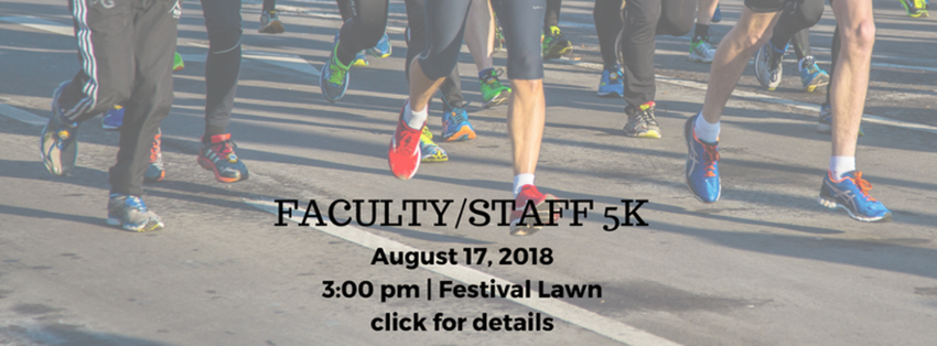 2018 Faculty/Staff 5K