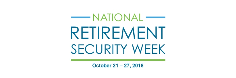 2018 National Retirement Security Week