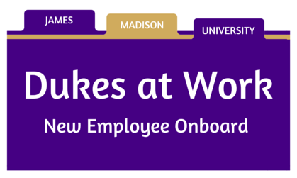 Dukes at Work - New Employee Onboard