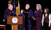 Jon Alger is sworn in as President of James Madison University