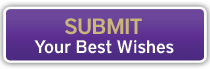 Submit your best wishes button