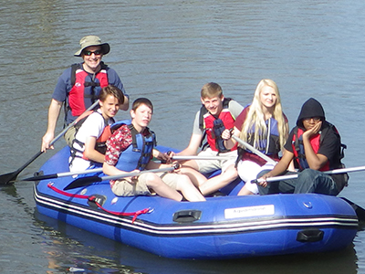 Rafting Trip Shows a New Perspective of Waynesboro Community