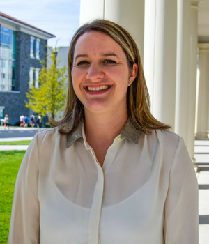 Image of Laura Schubert, Peer Education Coordinator for the UWC