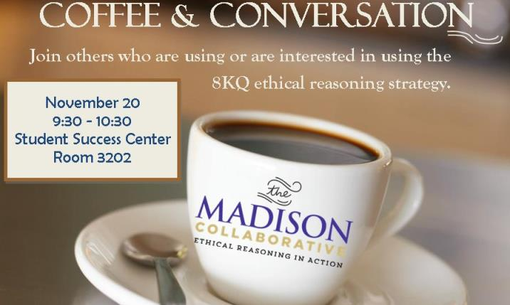 Coffee and Conversation Promo for November
