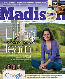 Madison magazine Fall 2012 cover