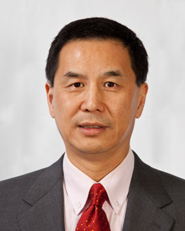 head and shoulder photo of Dr. Jie Chen