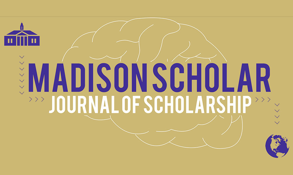 Madison Scholar logo on gold background