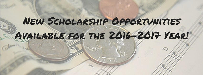 New Scholarship Opportunities