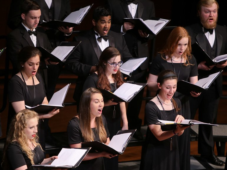 Choral Ensembles Audition Information