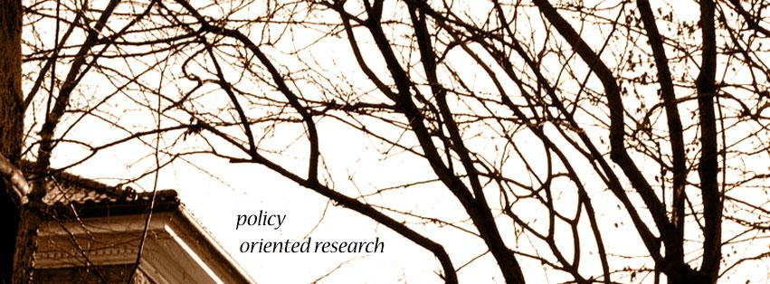 Policy Oriented Research