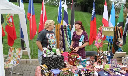 International Week bazaar from 2011