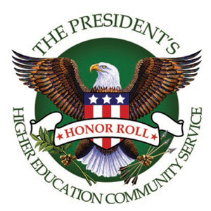 Logo of President's Higher Education Community Service Honor Roll