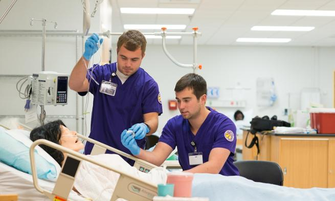 male nursing students
