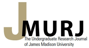 Black and gold letters JMURJ