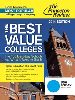 Cover photo of The Princeton Review Best Value Colleges for 2014