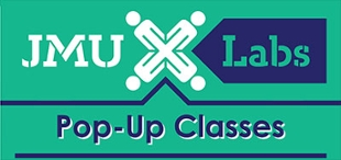 Logo from flier advertising pop up classes