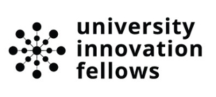 innovation fellows logo - black lettering on white background